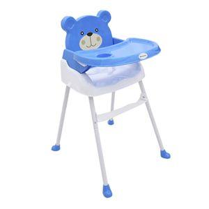 Silla Para Comer De Bebé Bebesitos Azul
