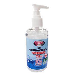 Gel Antibacterial Stay Beautiful 75% Alcohol 250 ml