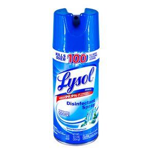 Spray Desinfectante Lysol Spring Waterfall 12.5 oz (máximo 3 piezas por cliente)