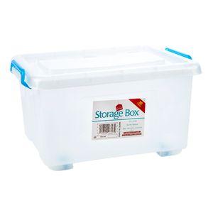 Caja Plástica Con Tapa Home Elegance 30 L (8 gl)