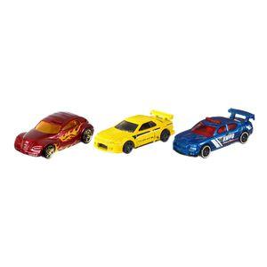 Carritos Hot Wheels 3 Autos Die-cast