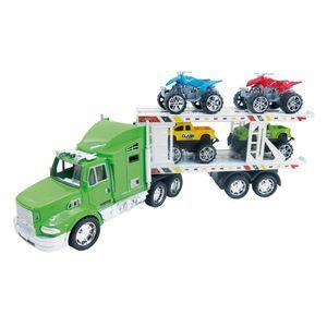 Camión a Fricción Motor Extreme Mula 4 Autos