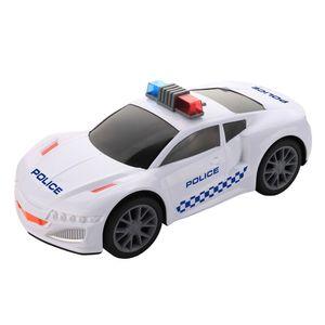 Carro Policia Motor Extreme con Luz