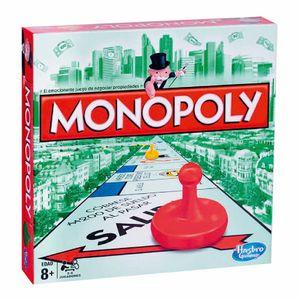 Juego De Mesa Monopolio Hasbro Clásico