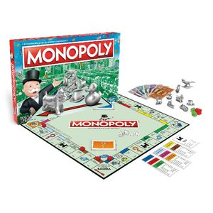 Juego De Monopolio Clásico Hasbro