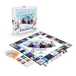 Juego De Mesa Monopoly Disney Frozen 2