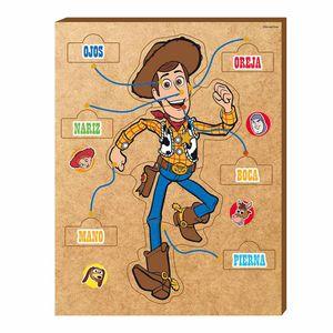 Rompecabezas Toy Story Partes Del Cuerpo