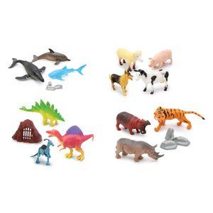 Animales Animal Life 22 Piezas