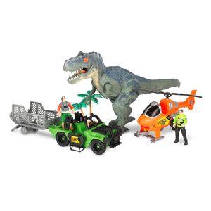 Dinosaurio Dino Mat con Helicóptero