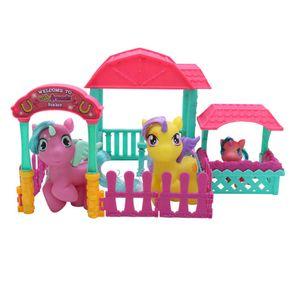 Unicornio Cutie Friends Set Establo