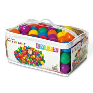 Pelotas Multicolores Intex