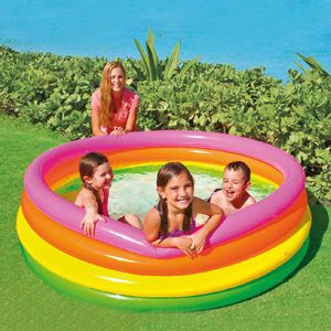 "Piscina Inflable Intex 4 Aros Sunset 66"" x 18"""