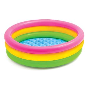 "Piscina Para Bebé Inflable Intex 3 Aros 34"" x 10"""