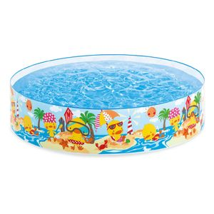 Piscina Rígida Intex Deep Blue Sea Snapset Pool 4' x 10""