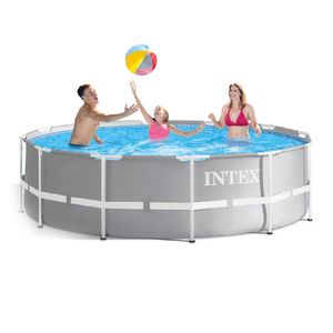 Piscina Metal Intex Prism Frame Pool 12' x 39""
