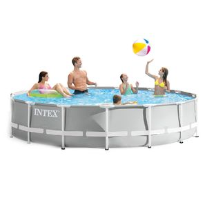 Piscina Set Intex Marco de Metal Prism 15' x 42""