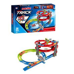 Pista Power Track 36 Piezas Tengleader