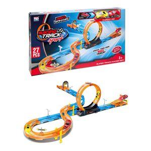 Pista Racing Track Sport 27 Piezas Tengleader