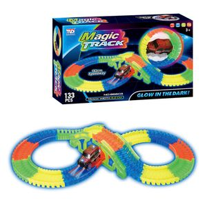 Pista Magic Track Sport 133 Piezas Tengleader