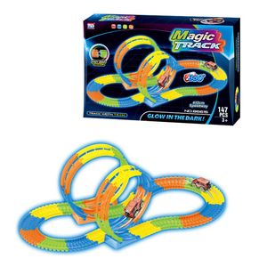 Pista Magic Track Sport 147 Piezas Tengleader