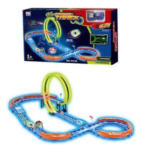 Pista 360 Spinway Track Racer 36 Piezas Tengleader