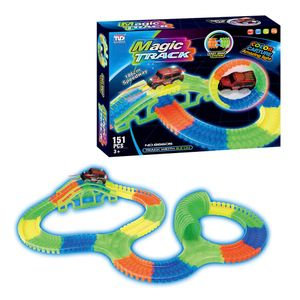 Pista Magic Track 151 Piezas Tengleader
