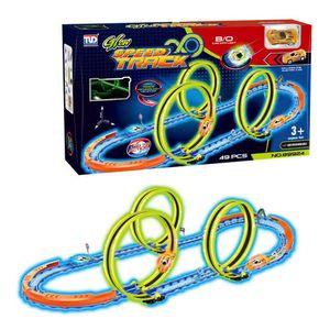 Pista 360 Spinway Track 49 Piezas Tengleader