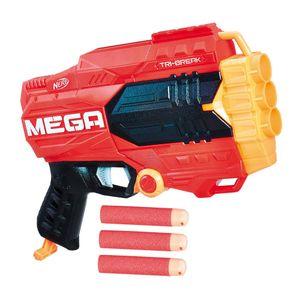 Juguete Pistola Nerf N-Strike Mega Tri-Break