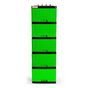 Gavetero Plastimas Verde 5 Gavetas