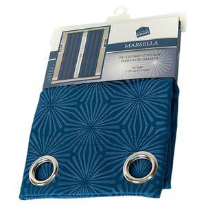 Cortina Home Elegance Color Azul