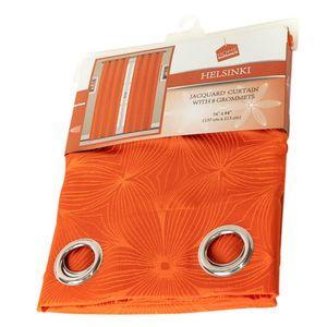 Cortina Home Elegance Color Naranja