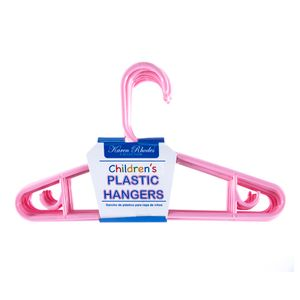 Ganchos De Plástico Para Ropa De Niños 10 piezas