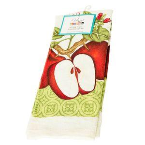 Toalla De Cocina Estampado Manzana