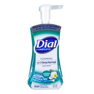Jabón Líquido Dial Antibacterial Coconut Water 221 ml