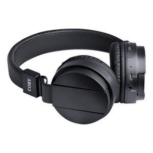 Audifonos Coby Bluetooth Negro