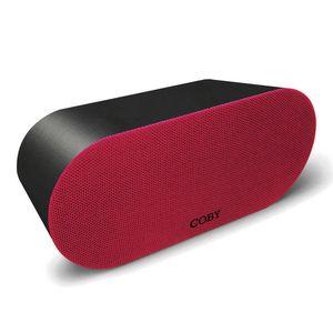 Bocina Portátil Coby Bluetooth Rojo