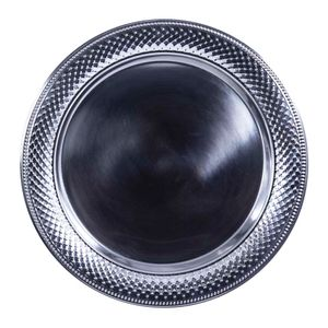 Bandeja Para Servir Home Elegance De Aluminio