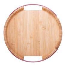 Bandeja Para Servir Home Elegance De Bambú