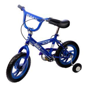 "Bicicleta BMX Star Toys Azul De 12"""