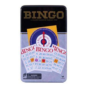 Juego De Bingo Clásico En Caja De Lata Cardinal