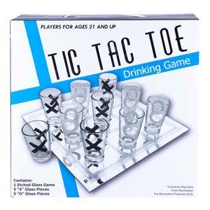 Juego Tic Tac Toe De Beber