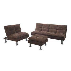 Juego De Sofa Elements Furniture 3 Piezas
