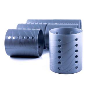 Set De Rollos Para El Cabello Plásticos Jumbo 12 Piezas