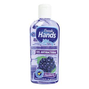 Gel Antibacterial Fresh Hands Blackberry 4 oz
