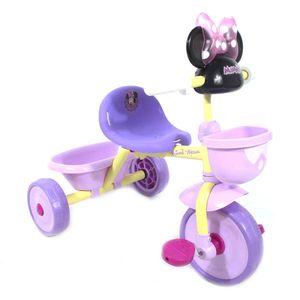 Triciclo Minnie Musical Con Canasta