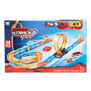 Pista Racing Track Sport 30 Piezas Tengleader