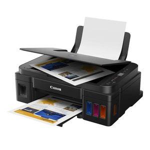 Impresora Multifuncional Canon G2110 Pixma de Inyección de Tinta