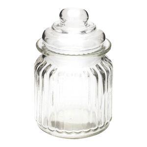 Envase Home Elegance De Vidrio Con Tapa
