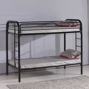 Camarote Elements Furniture Twin - Twin De Metal