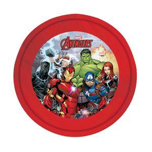 Plato Llano Plástico Avengers
